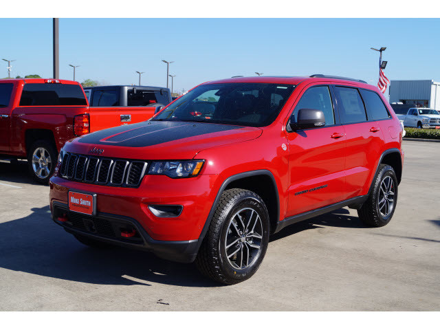 new 2018 jeep grand cherokee trailhawk sport utility in beaumont jc302999 mike smith chrysler. Black Bedroom Furniture Sets. Home Design Ideas