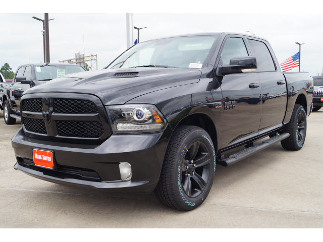new 2018 ram 1500 sport crew cab in beaumont js117354. Black Bedroom Furniture Sets. Home Design Ideas