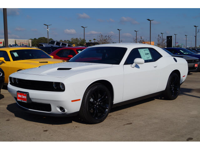 Black Dodge Ram >> New 2018 DODGE Challenger SXT Plus Coupe in Beaumont #JH172114 | Mike Smith Chrysler Jeep Dodge Ram