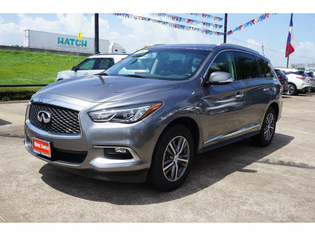 Pre-Owned 2016 INFINITI QX60 leather