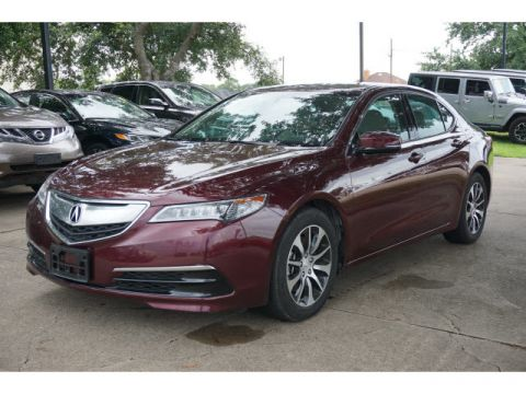 Pre-Owned 2016 Acura TLX leather
