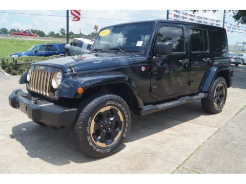 Pre-Owned 2014 Jeep Wrangler Unlimited Dragon Edition